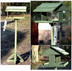 How To Build A Simple Bird Table