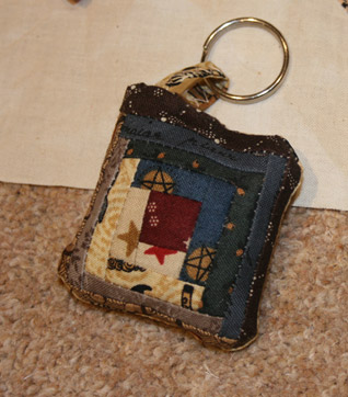 Hand made key ring