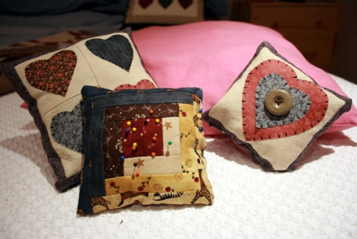 Ideas for xmas gifts - Lavender pin cushions