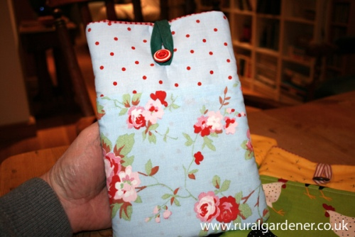 Home made Kindle Bags