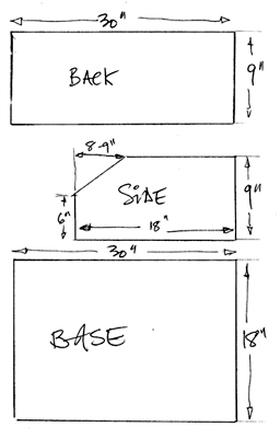 Plans For A Potting Bench