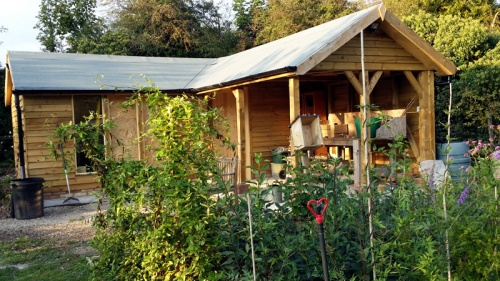 The New Potting Shed Area