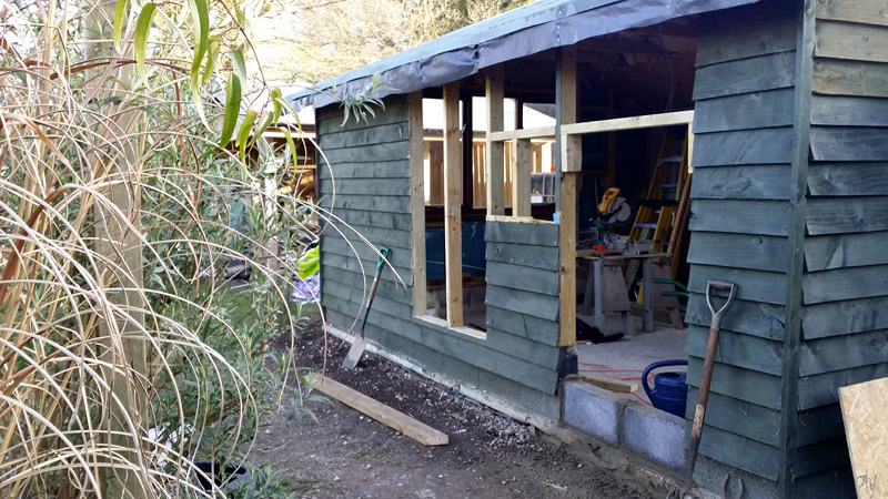 Convert Shed To Office