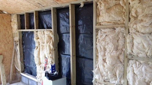 Insulate your shed