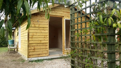 Shed Office Conversion