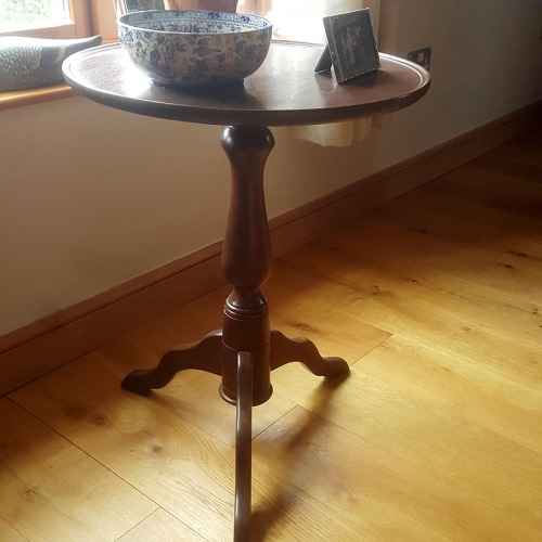 Home made Mahogany table