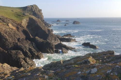 Rugged coastline of Cornwall